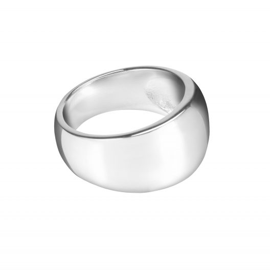 Chunky Solid Silver Ring