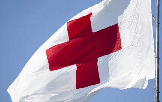 British Red Cross Flag