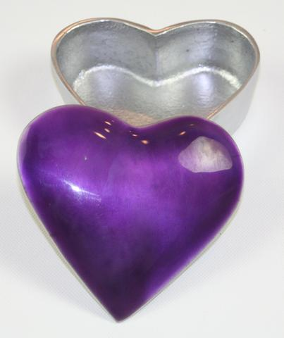 Purple Heart Trinket Box