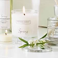 White Company Spring Candle