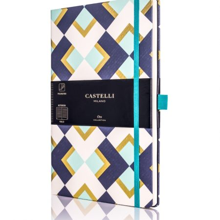 Oro Chess Castelli Notebook