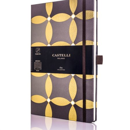 Oro Circles Castelli Notebook
