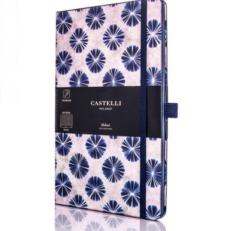 Shibori Flowers Castelli Notebook