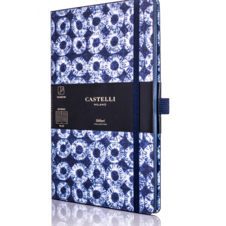 Shibori Rings Castelli Notebook