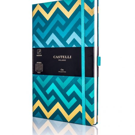 Oro Labyrinths Castelli Notebook
