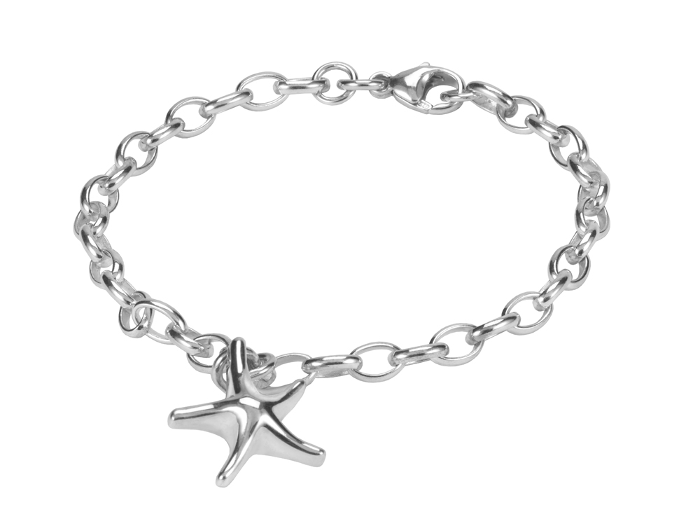 Silver Starfish Bracelet Seres Gifts