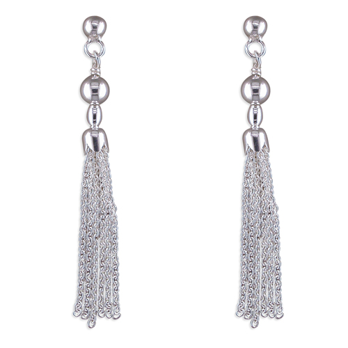 Tassel & Bead Earrings