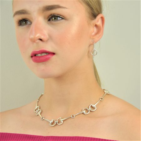 Tally Ho Necklace and Earrings